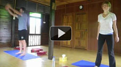 mat yoga video